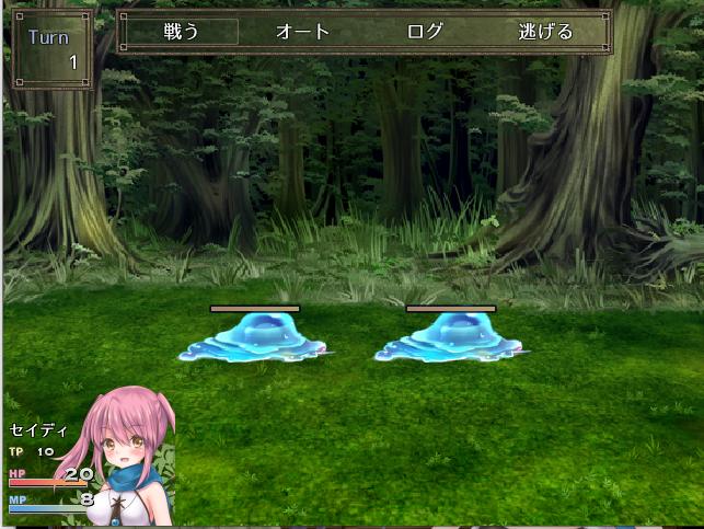 セイディといにしえの森の戦闘システム紹介