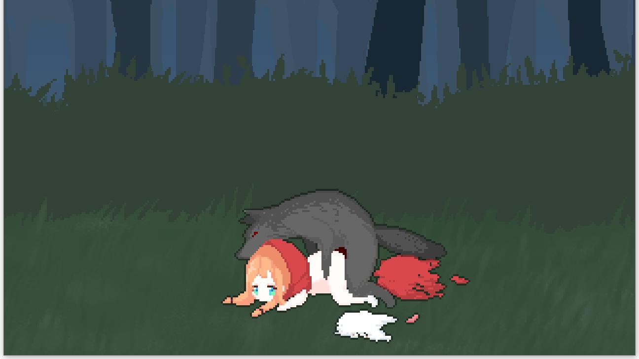 狼に犯される赤ずきん