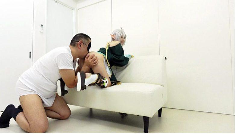 ガチ7P超乱交!異世界級140cm台ミニボディ妖精レイヤーをウブ膣破壊エンドレス極太蹂躙セックス サンプル画像